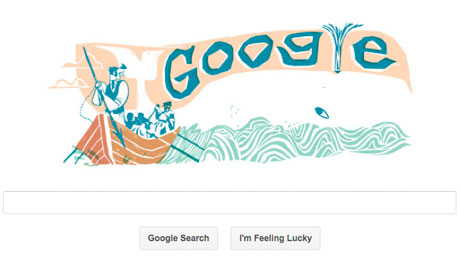 google doodle bernama moby dick